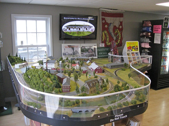 Bedford model railroad