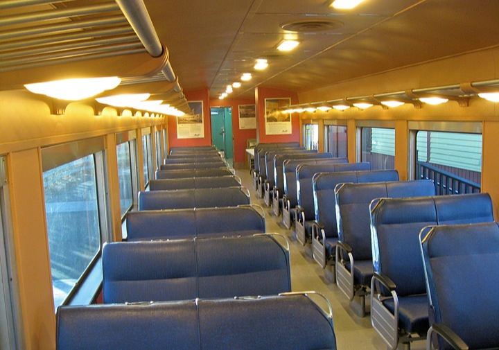 Restored RDC 6211 interior