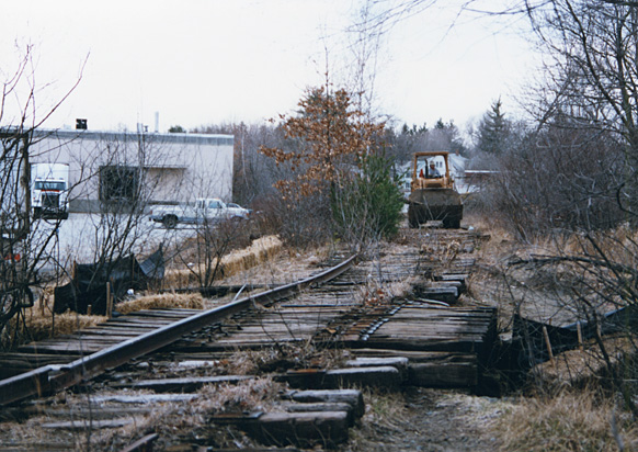 Lexington Branch tracks removed 1992